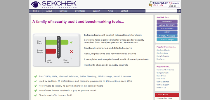 SekChek Security Auditing